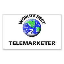 World's Best Telemarketer Decal
