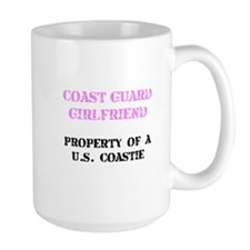 Coast Guard Girlfriend Mug