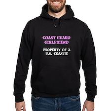 Coast Guard Girlfriend Hoody