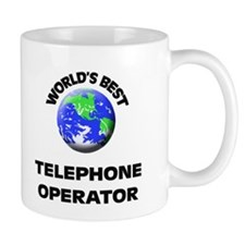 World's Best Telephone Operator Mug