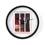 The Academic Wino logo Wall Clock