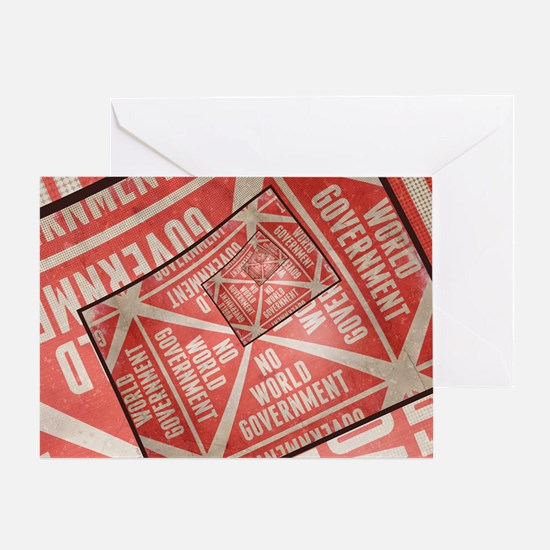 No World Government Greeting Card