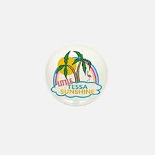 Island Girl Tessa Personalized Mini Button (100 pa