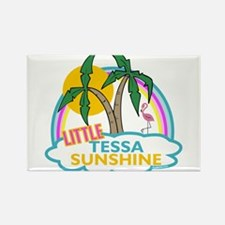 Island Girl Tessa Personalized Rectangle Magnet