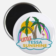 "Island Girl Tessa Personalized 2.25"" Magnet (100 p"