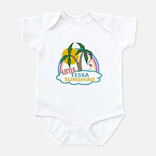 Island Girl Tessa Personalized Infant Bodysuit