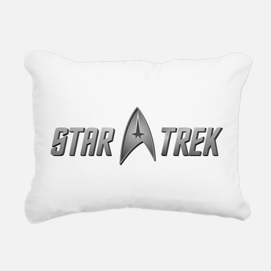 STAR TREK silver 2 Rectangular Canvas Pillow