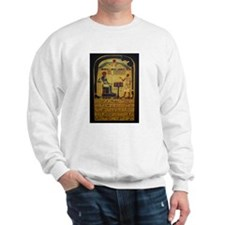 Stele of Revealing Sweatshirt