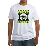 Play Free Online Chess Fitted T-Shirt