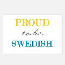 Swedish Pride Postcards (Package of 8)