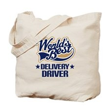 Worlds Best Delivery Driver Tote Bag