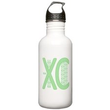 XC Run Run Green Water Bottle