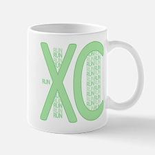 XC Run Run Green Mug