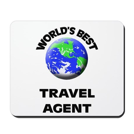 World's Best Travel Agent Mousepad