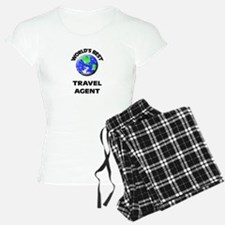 World's Best Travel Agent Pajamas