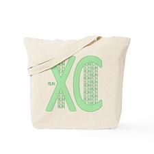 XC Run Run Green Tote Bag