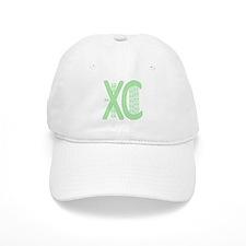 XC Run Run Green Baseball Baseball Cap
