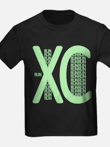 XC Run Run Green T-Shirt
