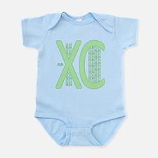 XC Run Run Green Body Suit