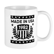 Made In USA 1982 Mug