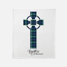 Cross - Baillie of Polkemett Throw Blanket