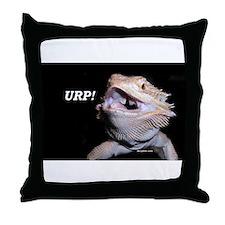 Beardie Burps! Throw Pillow