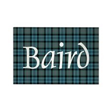 Tartan - Baird Rectangle Magnet