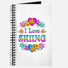 I Love Skiing Journal