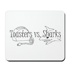Toasters vs. Sharks Mousepad