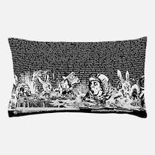 Vintage Alice Border Black Pillow Case