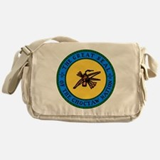 Great Seal Of The Choctaw Nation Messenger Bag