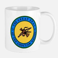 Great Seal Of The Choctaw Nation Small Small Mug