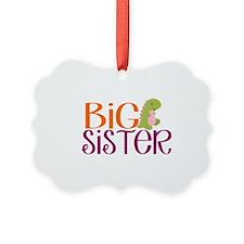 Big Sister Dino Ornament