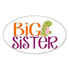 Big Sister Dino Decal