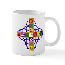 Greek Astrological Cross Mug