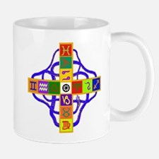 Greek Astrological Cross Mug