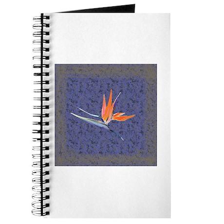 Blue Bird of Paradise Journal