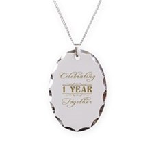Celebrating 1 Year Together Necklace