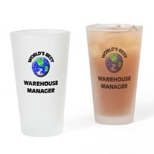 World's Best Warehouse Manager Drinking Glass