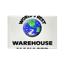 World's Best Warehouse Manager Rectangle Magnet