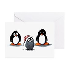 Funny Happy feet Greeting Cards (Pk of 10)