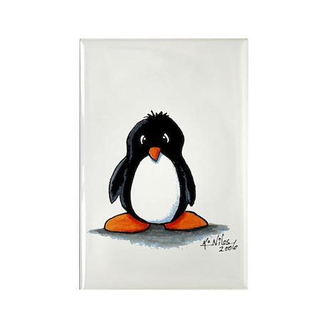 Humphrey Penguin Rectangle Magnet