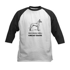 Life Is Better With A Great Dane Baseball Jersey