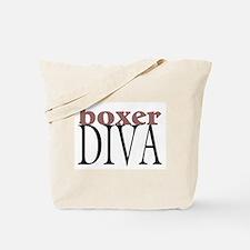 Boxer Diva Tote Bag