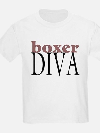 Boxer Diva Kids T-Shirt
