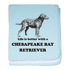Life Is Better With A Chesapeake Bay Retriever bab