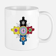 Enochian Rose Cross Mug