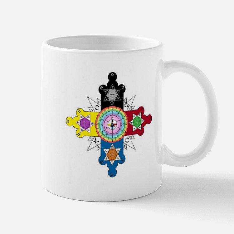 Enochian Rose Cross Mug