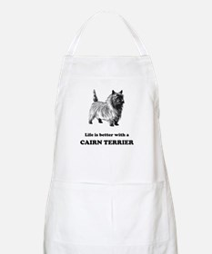 Life Is Better With A Cairn Terrier Apron