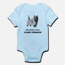Life Is Better With A Cairn Terrier Body Suit